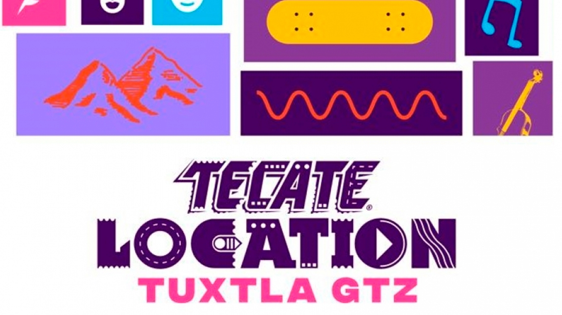 Tecate Location anuncia Line Up para Chiapas