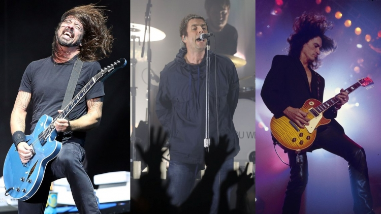 Foo Fighters, Liam Gallagher y Joe Perry hacen cover a 'Come Together'