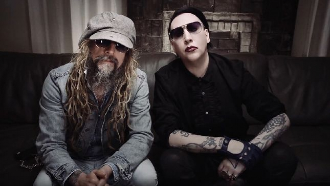 Marilyn Manson y Rob Zombie realizaron cover a The Beatles