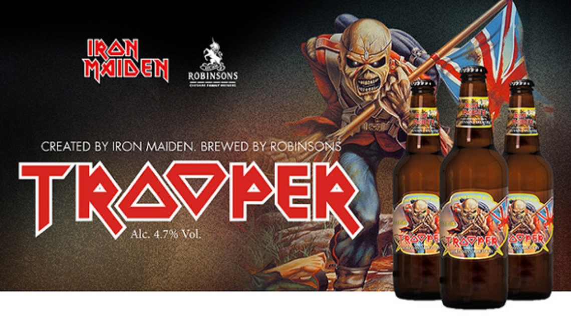 Iron Maiden, a cinco años de su cerveza The Trooper