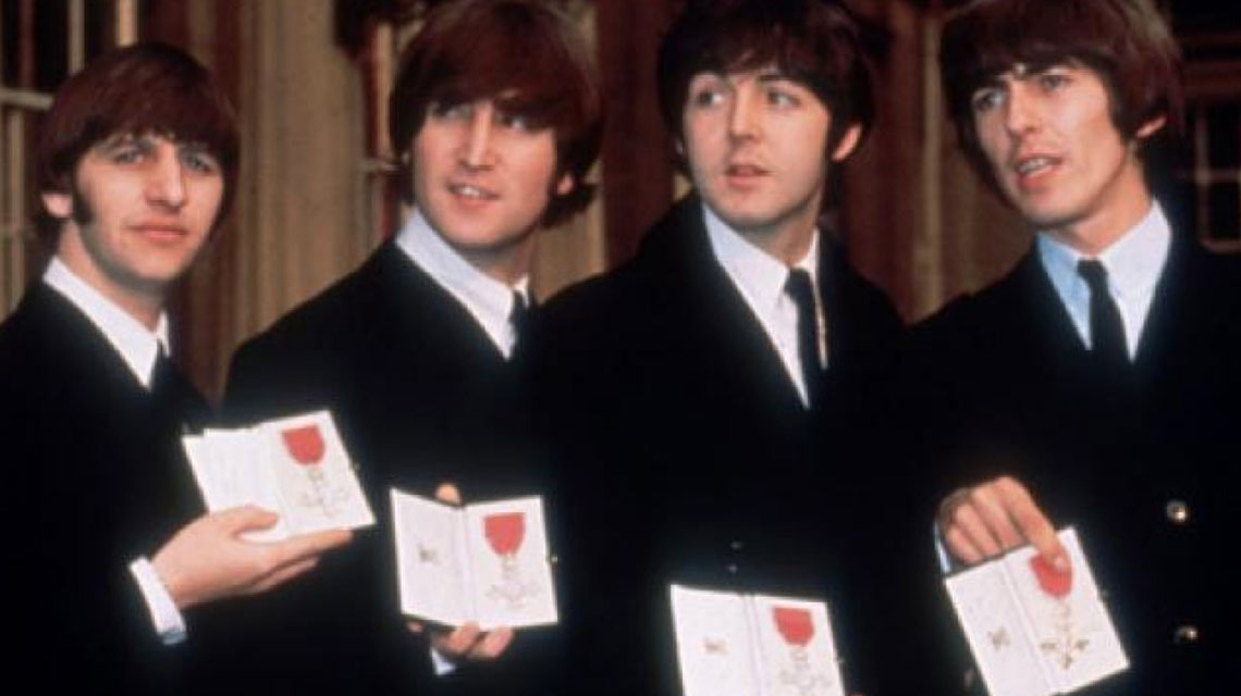 52 años de The Beatles como 'Sir'