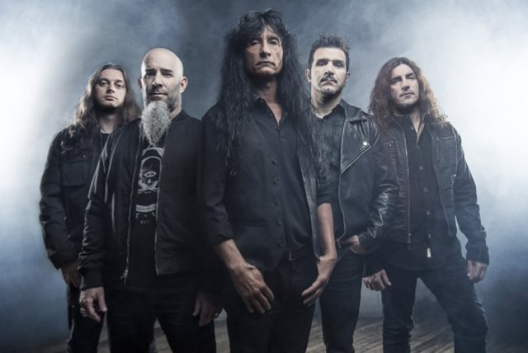 Anthrax en México para el Open Air Force Fest 2018