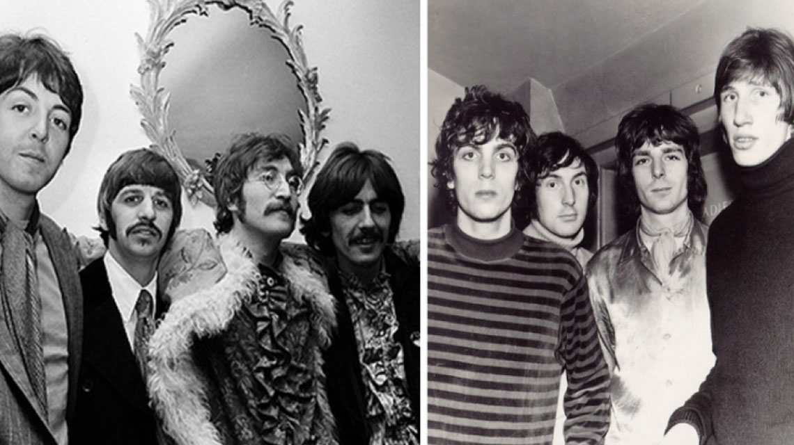 The Beatles, la gran influencia de Pink Floyd