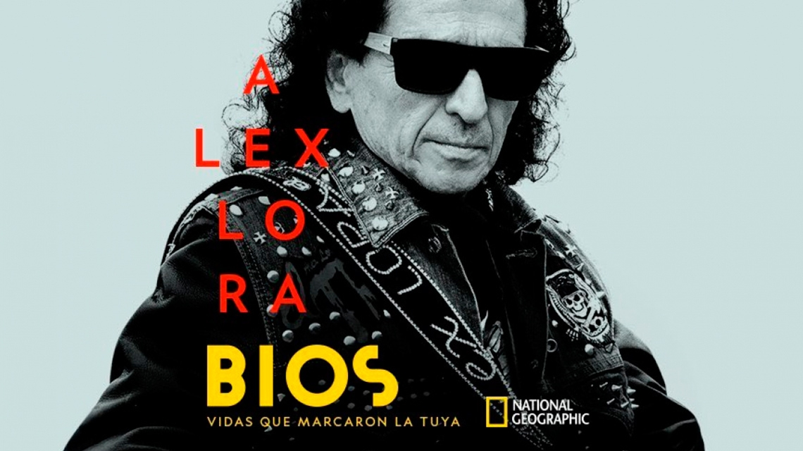 National Geographic estrena documental sobre Alex Lora