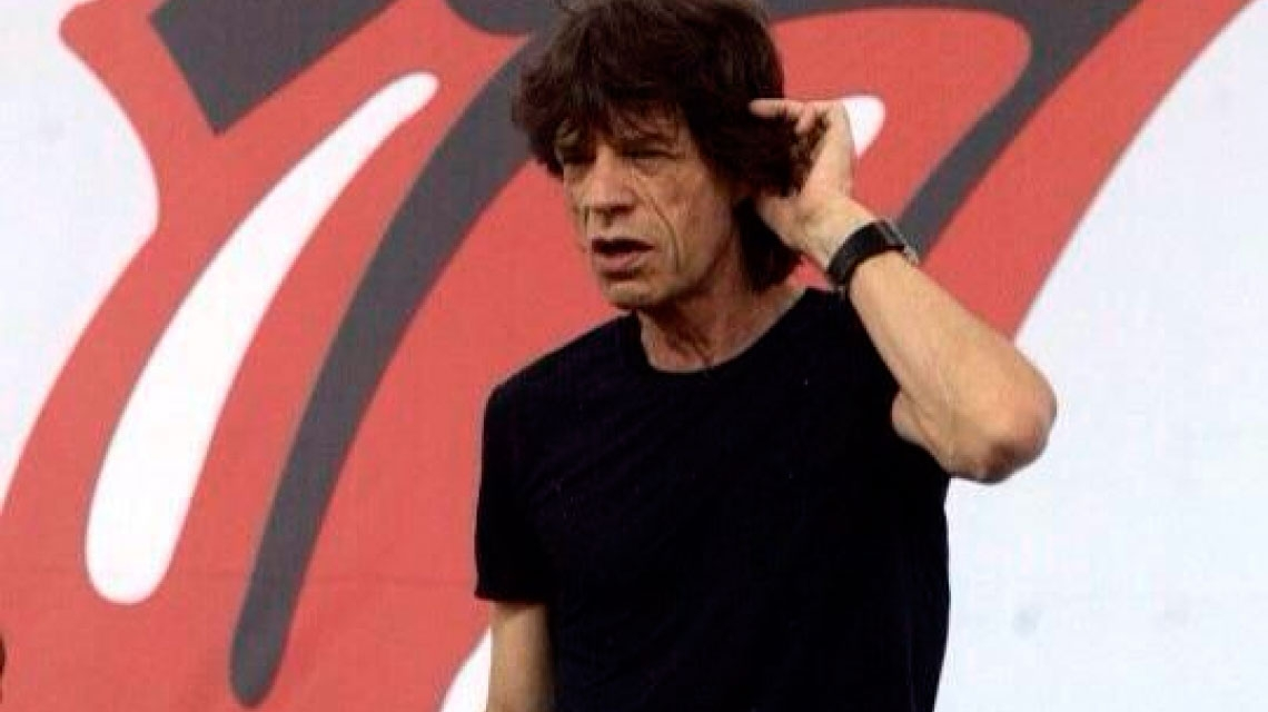 Mick Jagger, el actor