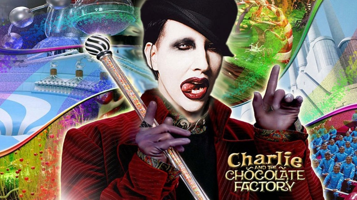 Marilyn Manson pudo ser Willy Wonka