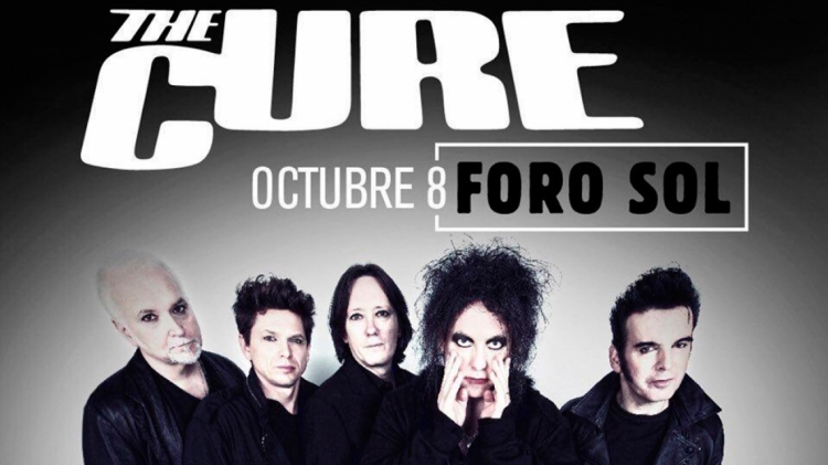 The Cure confirman recital en Latinoamérica